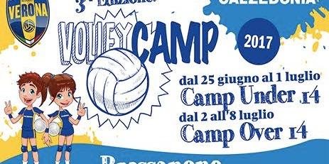 Calzedonia Volley Camp: al via le iscrizioni per l'estate 2017