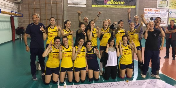 Real BC Volley Promosso in D !