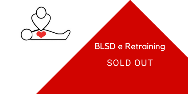 Corsi BLSD e Retraining, SOLD OUT!