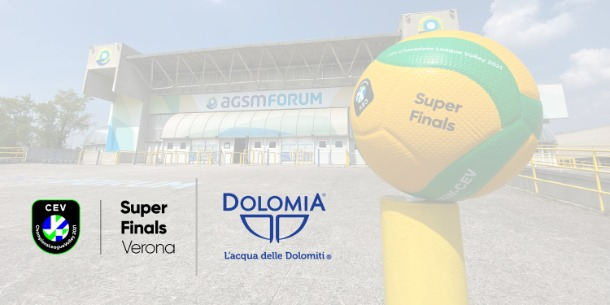ACQUA DOLOMIA A VERONA PER LE SUPER FINALS CHAMPIONS LEAGUE CEV