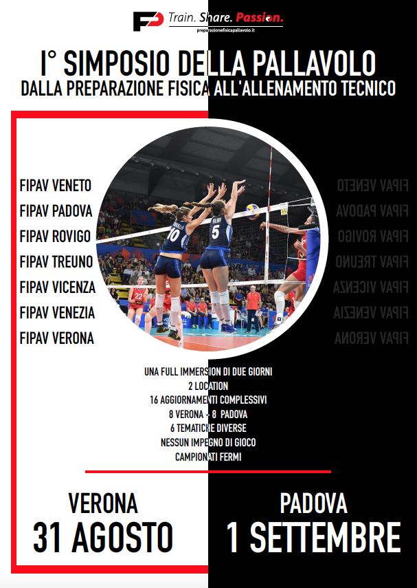Fipav Venezia Calendario.1 Simposio Del Volley A Verona E Padova Il 31 Agosto E L 1